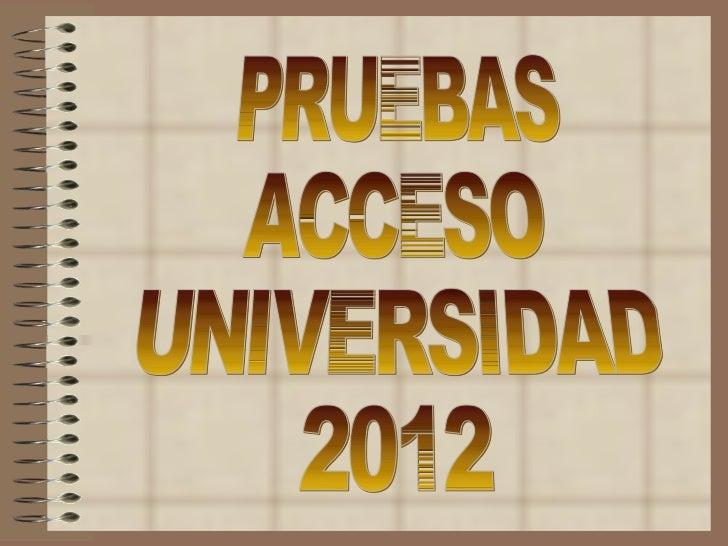 UNIVERSIDAD DE ZARAGOZAACUERDO de 20 de diciembre de 2011, de laComisión Organizadora de la prueba de acceso alas enseñanz...