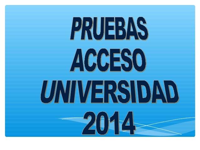 UNIVERSIDAD DE ZARAGOZA ACUERDO de 16 de diciembre de 2013, de la Comisión Organizadora de la prueba de acceso a las enseñ...
