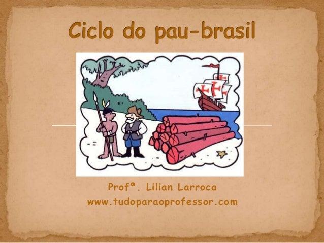 Profª. Lilian Larrocawww.tudoparaoprofessor.com