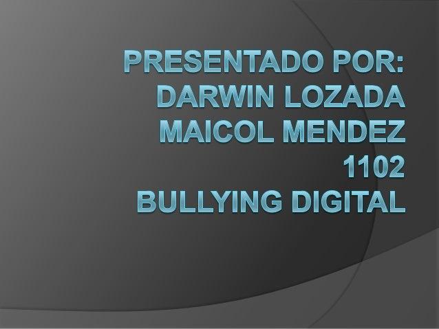 Bullying Digital