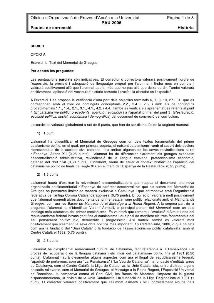 Oficina d'Organització de Proves d'Accés a la Universitat                                 Pàgina 1 de 8                   ...