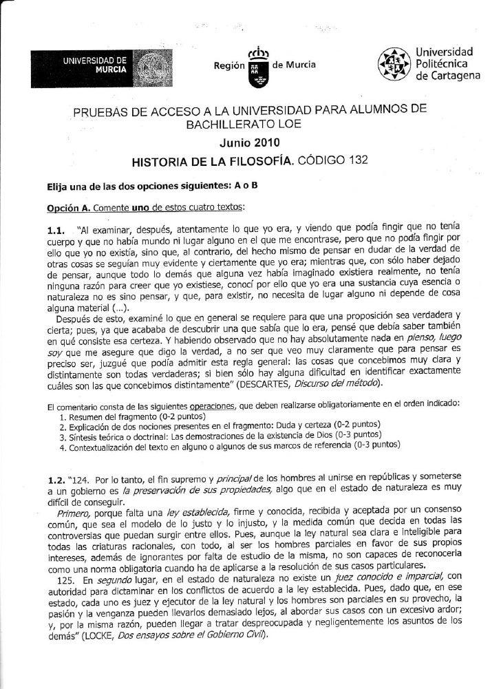 Examen P.A.U. Junio 2010