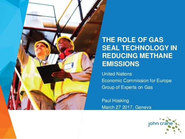 THE ROLE OF GAS SEAL TECHNOLOGY IN REDUCING METHANE EMISSIONS United Nations Economic Commission for Europe Group of Exper...