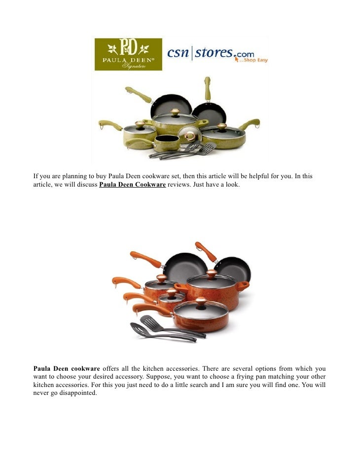 If you are planning to buy Paula Deen cookware set, then this article will be helpful for you. In thisarticle, we will dis...