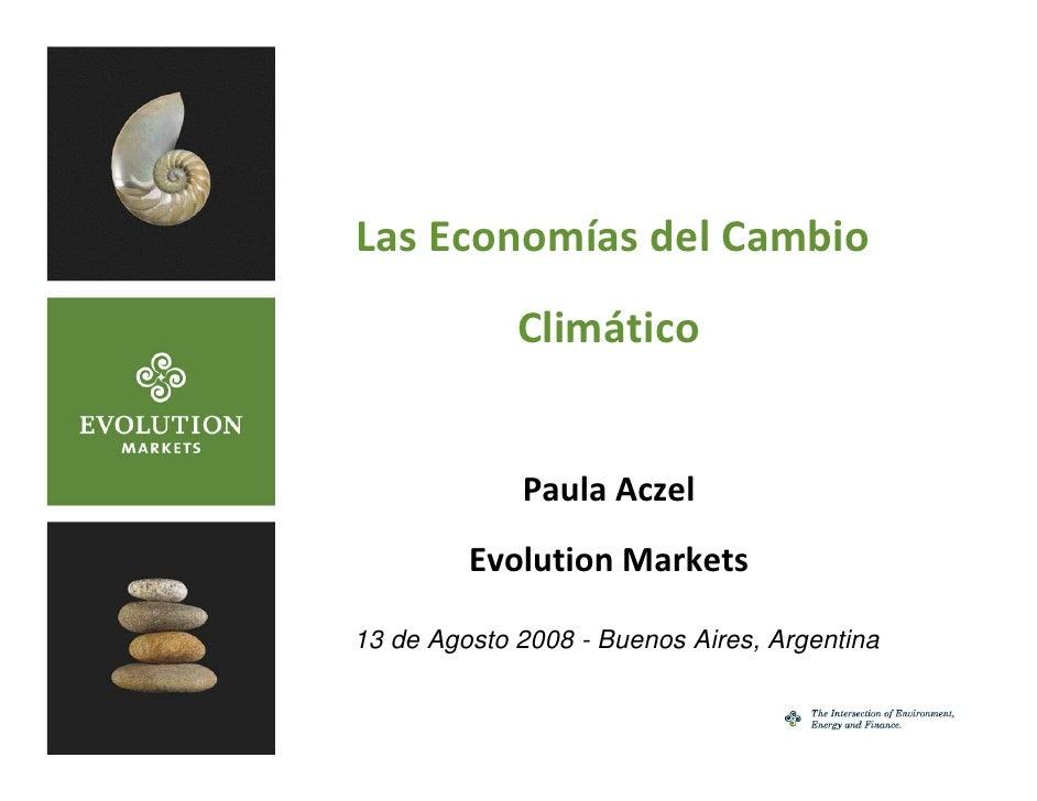 LasEconomíasdelCambio                  Climático                    PaulaAczel              Evolution Markets      13...