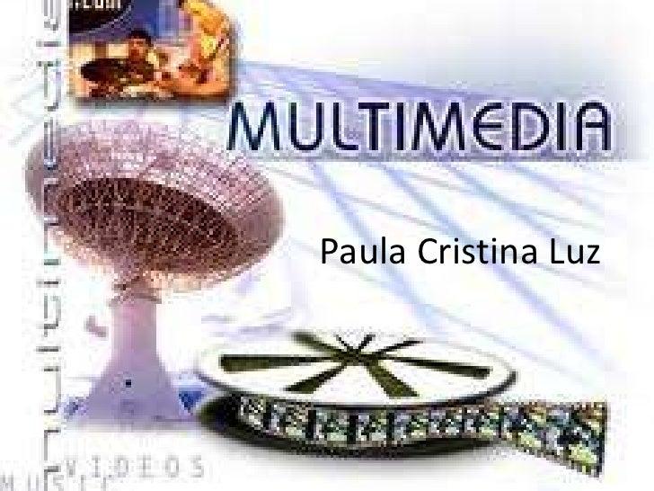 Paula Cristina Luz<br />