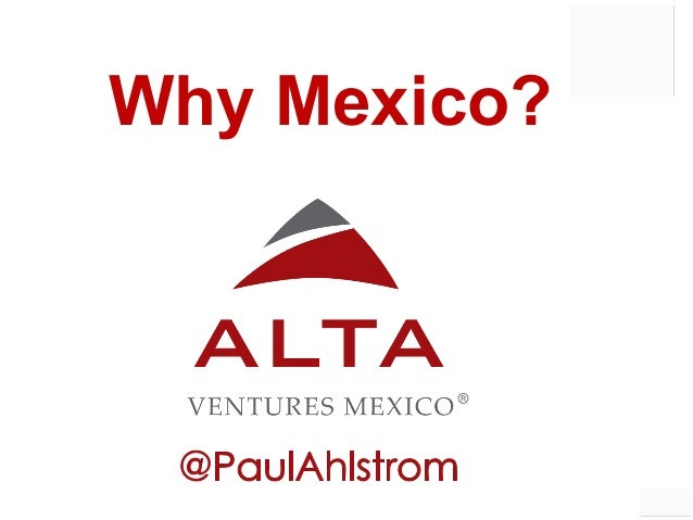 1 Why Mexico?