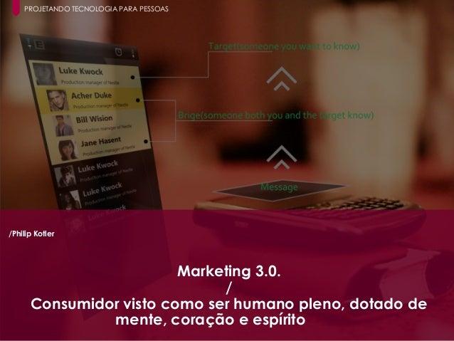 16 Paula Macedo - Digicorp| 2014 /Philip Kotler Marketing 3.0. / Consumidor visto como ser humano pleno, dotado de mente, ...