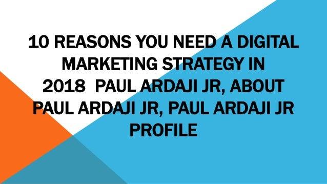 The Role Of Digital Marketing Companies in usa Paul Ardaji