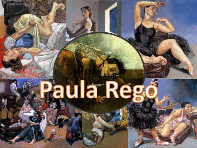 Biografia I • Paula Rego nasceu a 26 de Janeiro de 1935, em Lisboa, oriunda de uma família republicana . • Incentivada pel...