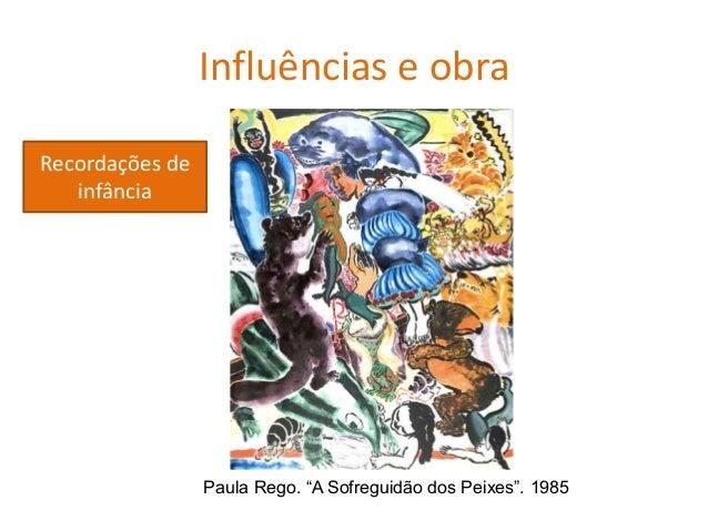 """Paula Rego, Tríptico (Série """"Aborto""""). 1997-1999 Influências e obra Retrato crítico da realidade"""