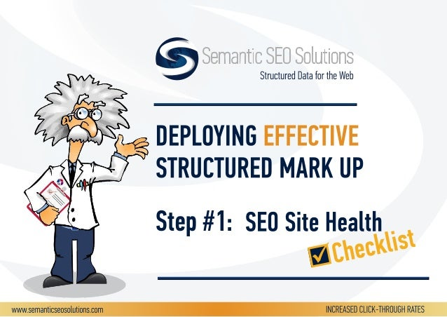 FIRST: SEO Site Health AFTER: Structured Data