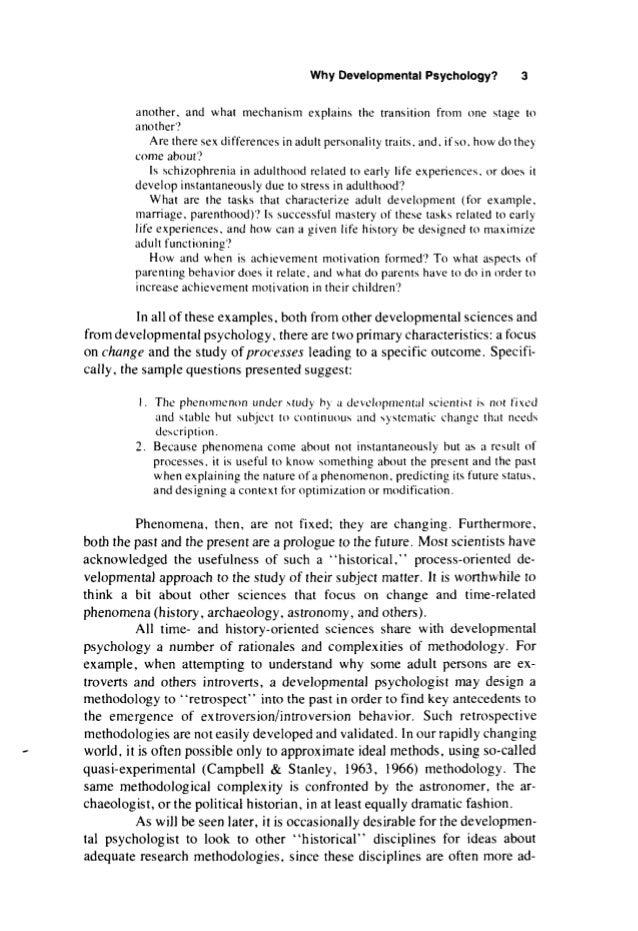 paul b baltes hayne w reese john r nesselroade life span developm   16 why developmental psychology