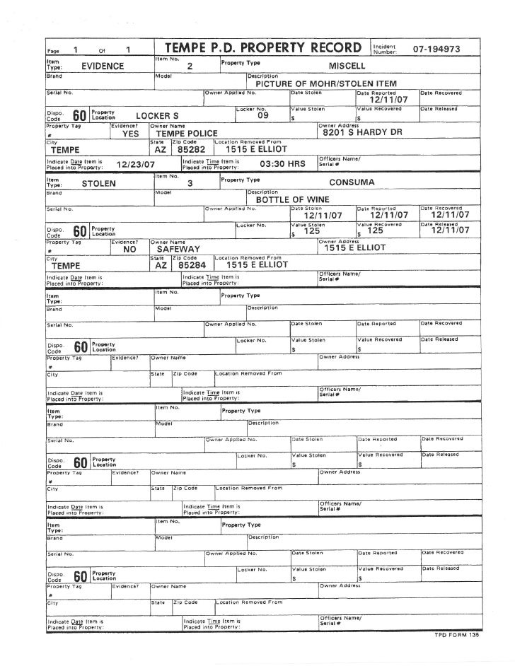 how to make a police report for lost wallet