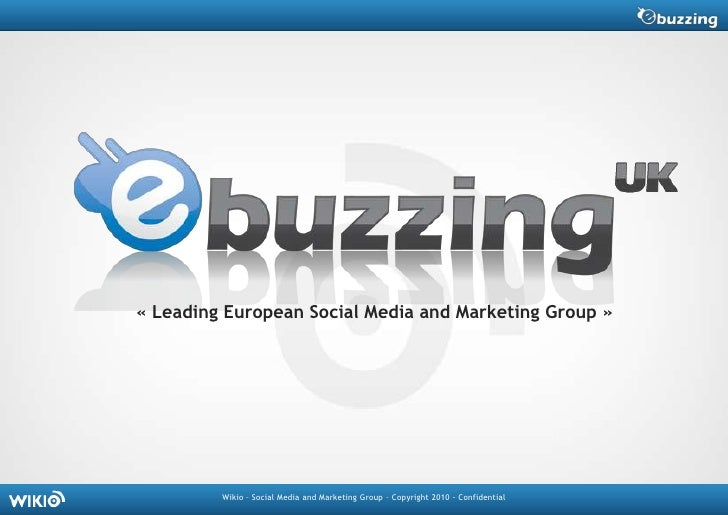 «Leading European Social Media and Marketing Group»<br />