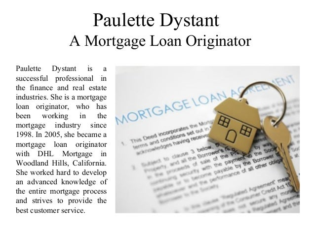 Paulette Dystant A Mortgage Loan Originator Paulette Dystant is a successful professional in the finance and real estate i...