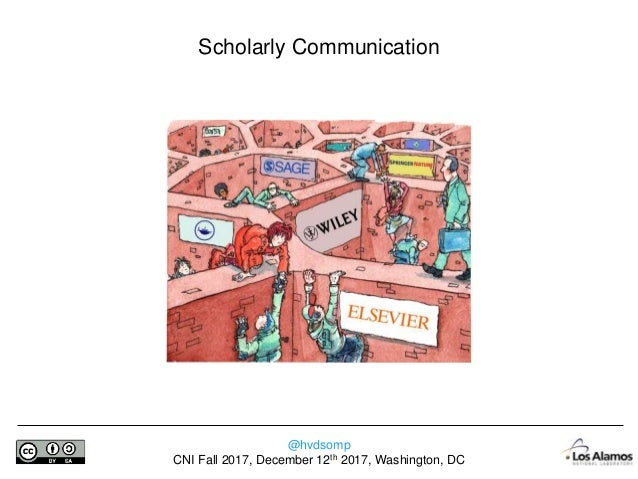 @hvdsomp CNI Fall 2017, December 12th 2017, Washington, DC 36 Years of My Career … Adapted by Björn Brembs from http://www...