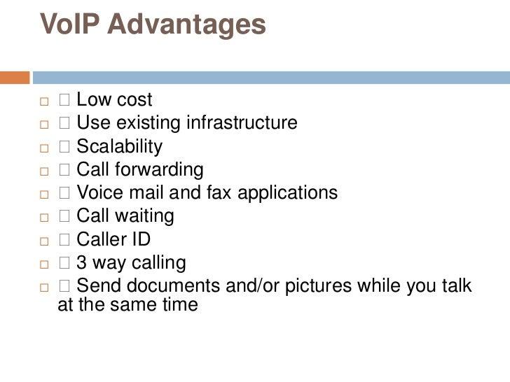 voip advantages and disadvantages Paul final voip