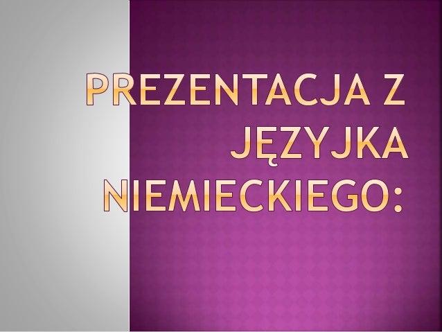  Mein Name ist Paulina. Mein Nachname ist Kwiatkowska. Ich bin 17 Jahre alt. Ich komme aus Polen. Ich wohne in Olsztyn.