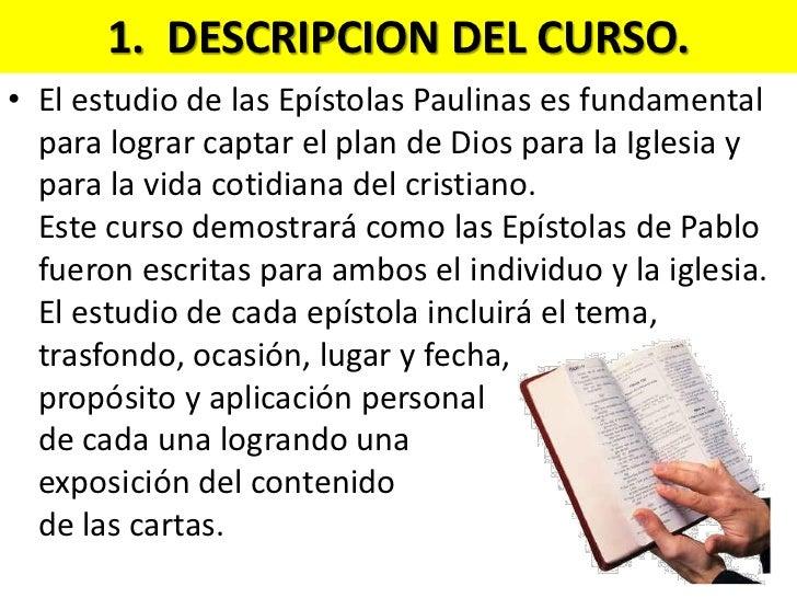 Epistolas Paulinas Clase de hoy 5/7/2011 Slide 3