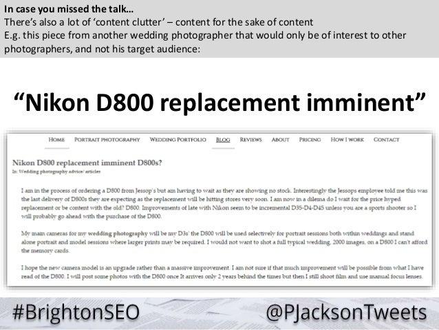 Content Marketing Strategy - Paul Jackson @ BrightonSEO Slide 3