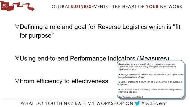 what role does warehousing play in reverse logistics Warehousing facilities play a vital role in the overall supply chain process it is evident that continuing globalization and changes/challenges occurring in such areas as reverse logistics, environmental sustainability, information technology, and.