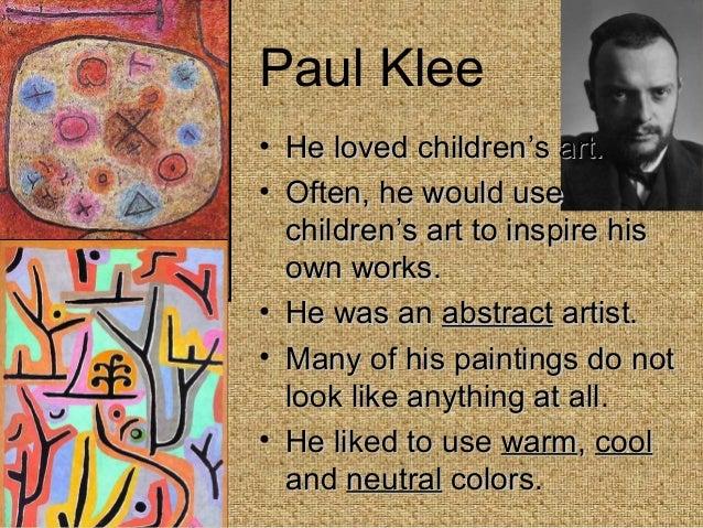paul klee biography