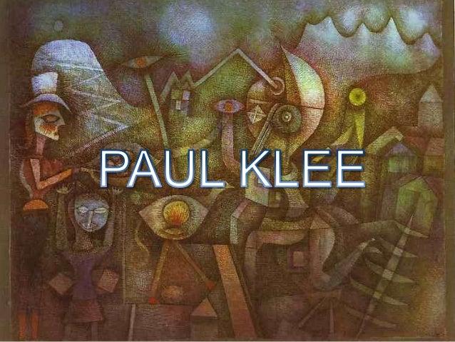 Paul Klee foi um pintor suíço que nasceu a 18 de Dezembro de 1879 em Münchenbuchsee, Suíça e morreu a 29 de Junho de 1940 ...