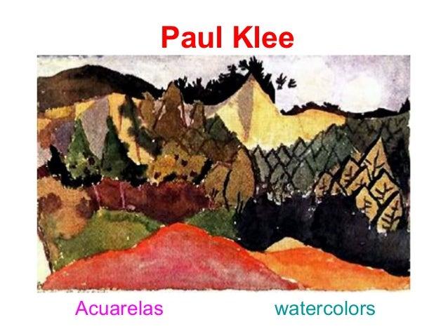 Paul KleeAcuarelas      watercolors