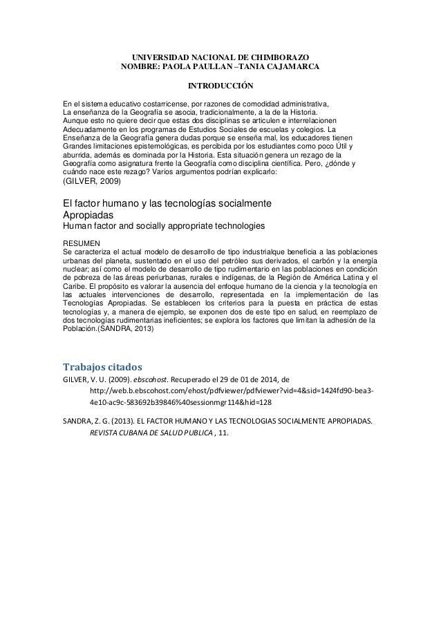 UNIVERSIDAD NACIONAL DE CHIMBORAZO NOMBRE: PAOLA PAULLAN –TANIA CAJAMARCA INTRODUCCIÓN En el sistema educativo costarricen...