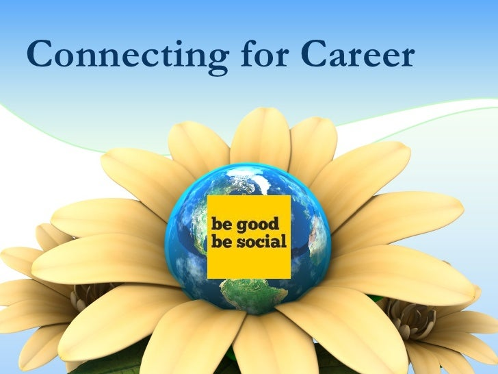 Connecting for Career