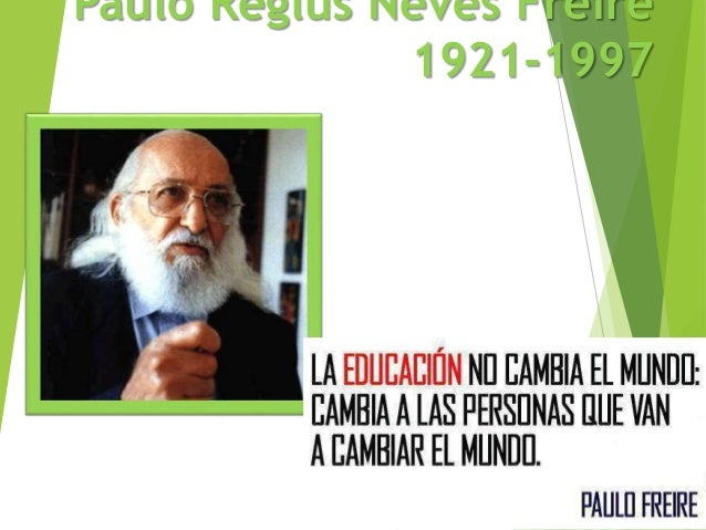 Paulo Freire Clases 2018