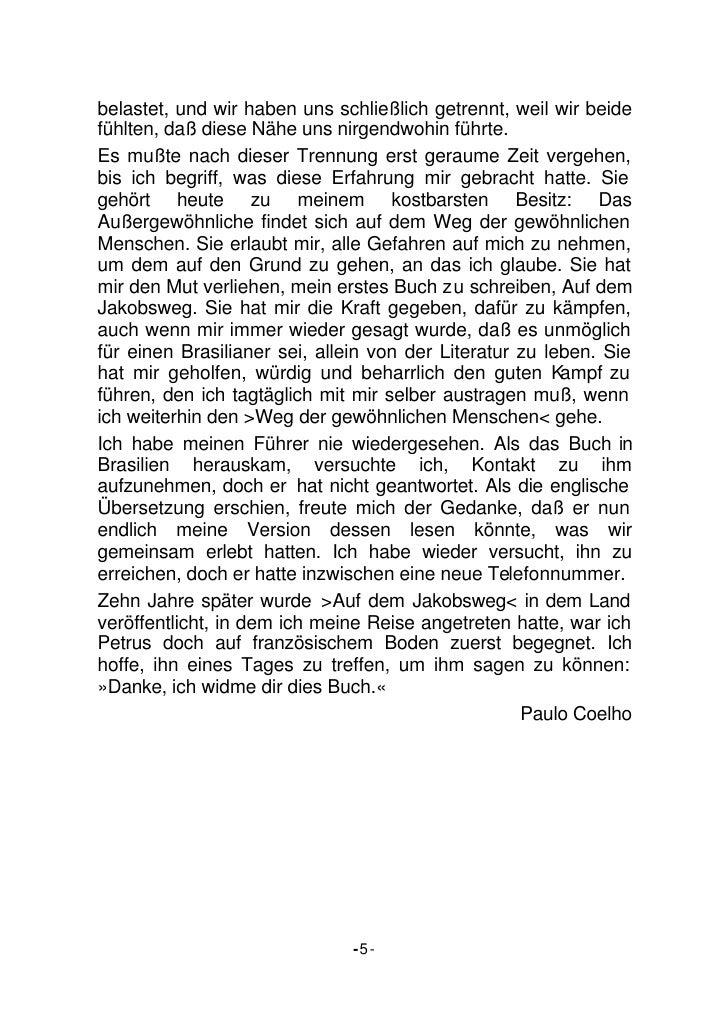 Paulo Coelho Jakobsweg