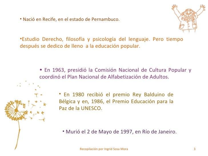 Paulo Freire Slide 3