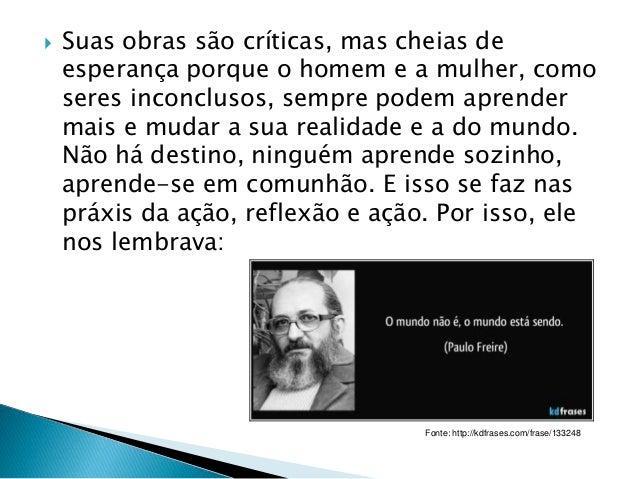 Paulo Freire E Suas Contribuições Para A Didática