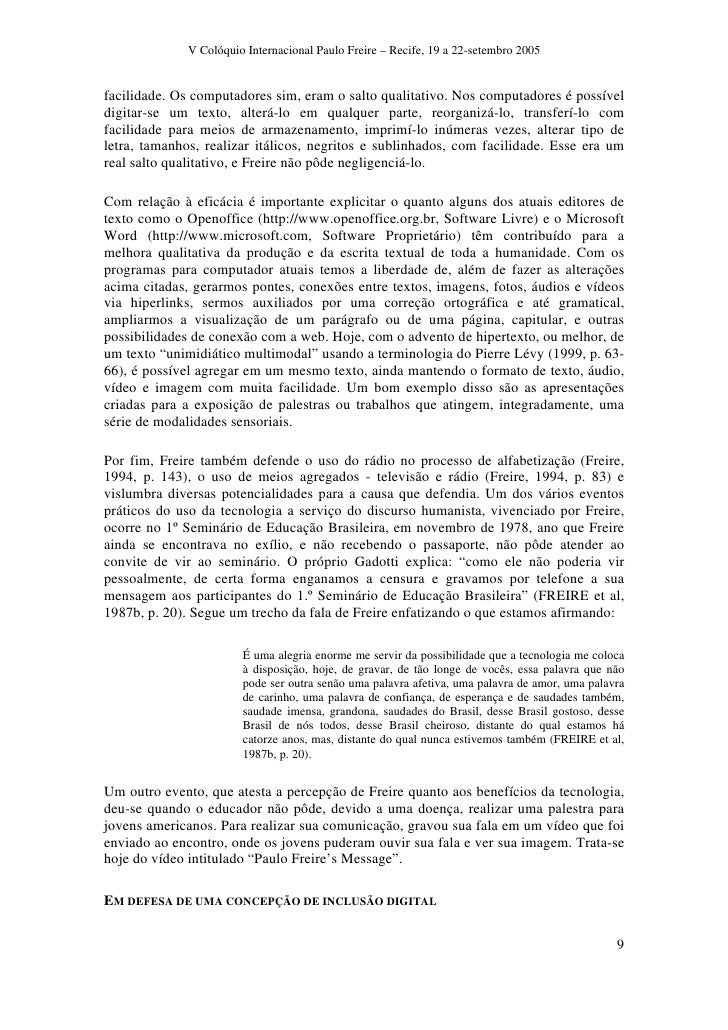 Paulo Freire Tecnologia