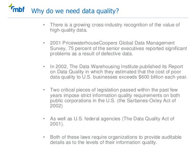 Data quality practical guide