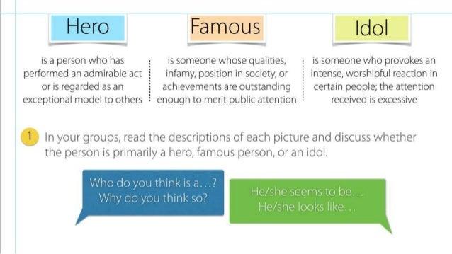 description of a hero