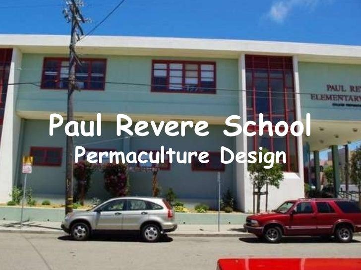 Paul Revere School Permaculture Design