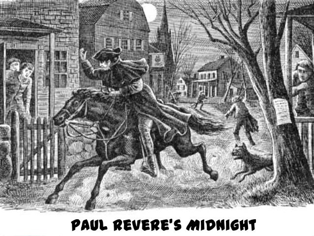 essay on paul reveres ride Short biography paul revere was one of the key figures of the revolutionary movement in new england colonies but it was the famous midnight ride of april 18.