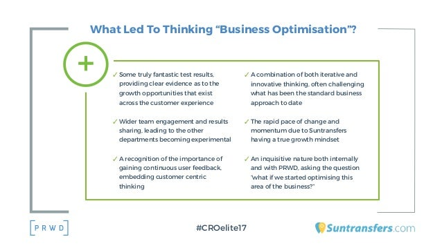 """What Led To Thinking """"Business Optimisation""""? ✓ Some truly fantastic test results, providing clear evidence as to the grow..."""