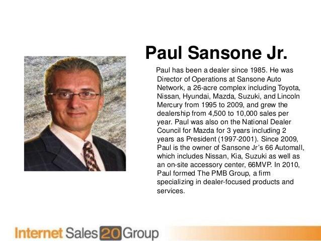Paul Sansone Jr