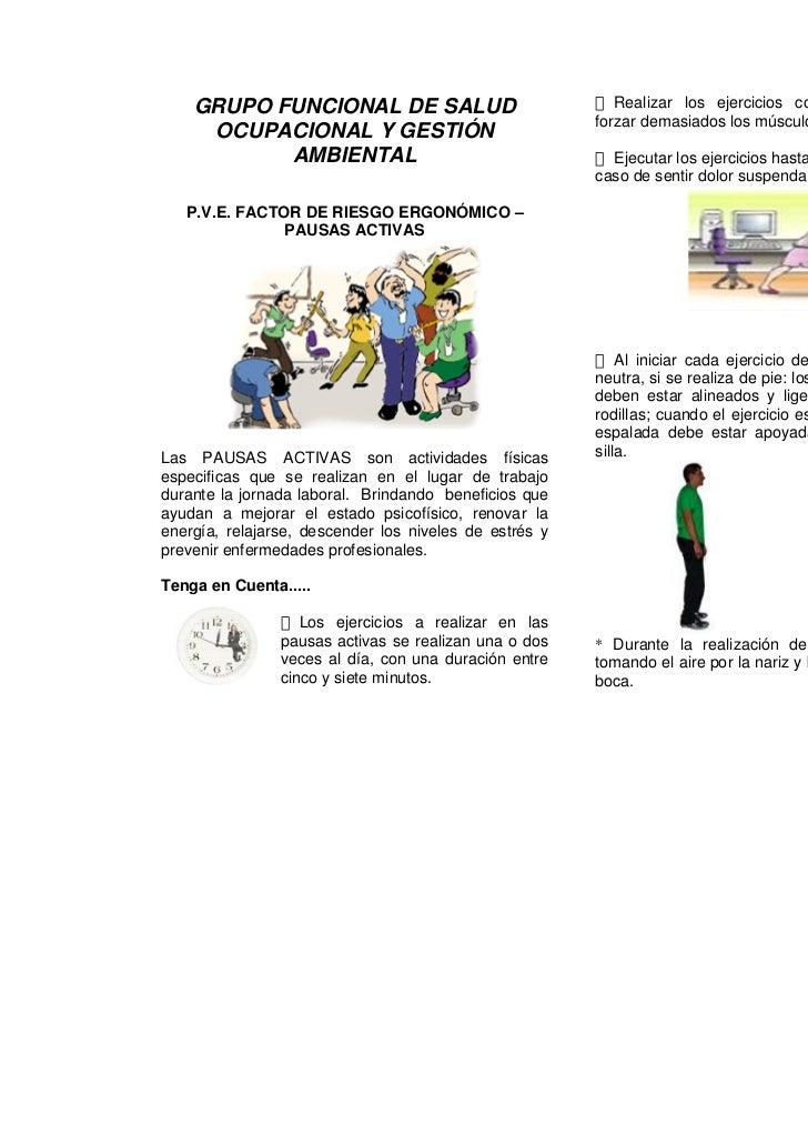 GRUPO FUNCIONAL DE SALUD                               Realizar los ejercicios contados lentamente sin                    ...