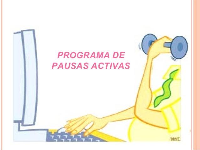 PROGRAMA DEPAUSAS ACTIVAS
