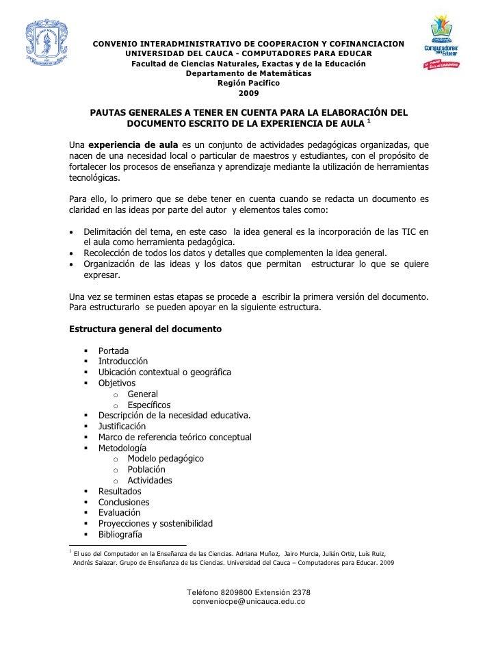 CONVENIO INTERADMINISTRATIVO DE COOPERACION Y COFINANCIACION                  UNIVERSIDAD DEL CAUCA - COMPUTADORES PARA ED...