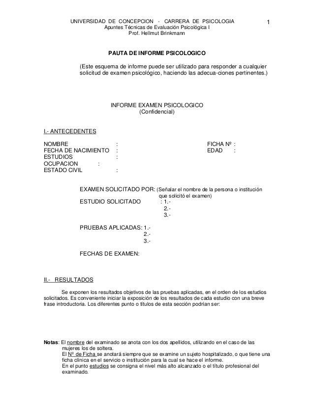 UNIVERSIDAD DE CONCEPCION - CARRERA DE PSICOLOGIA                                         1                      Apuntes T...