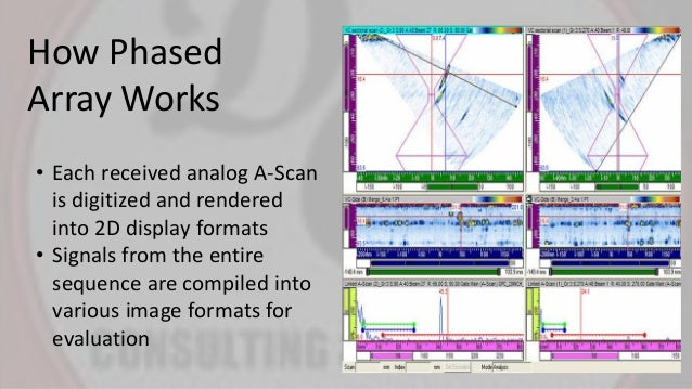 Phased Array Ultrasonic Testing In Lieu Of Radiography