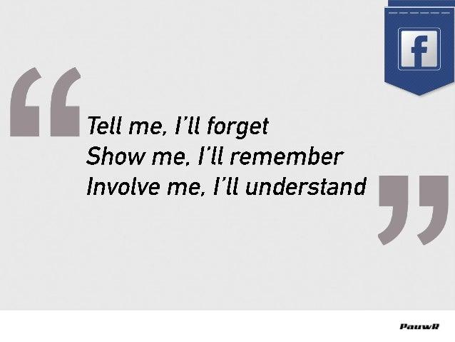 Let op: Facebook is geen eiland! | Congres Facebook Marketing 2015 | PauwR | Pieter Voogt Slide 3