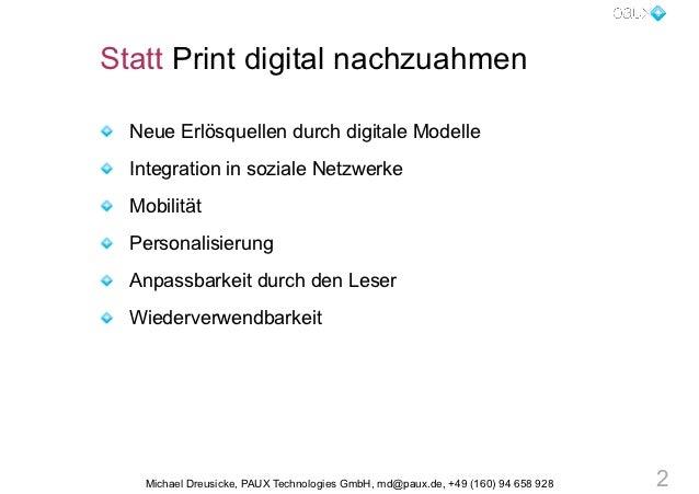 Wie Sie Ihren Content fit machen für die Zukunft (für Cash) Slide 2