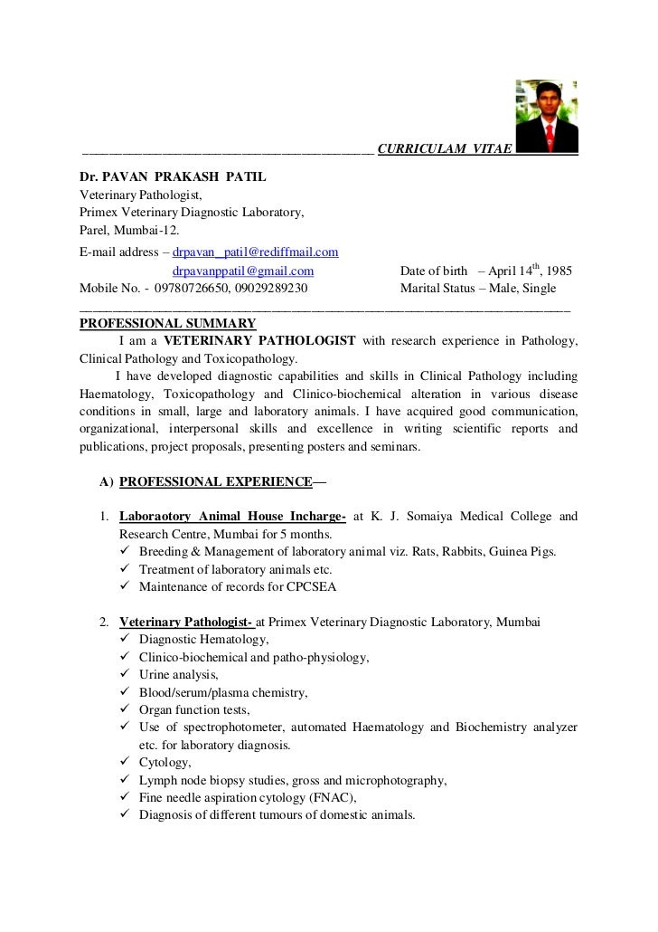 pavan patil cv